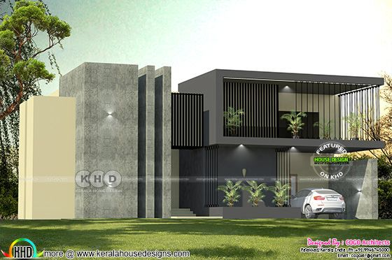 4 bedroom ultra Modern sober color home