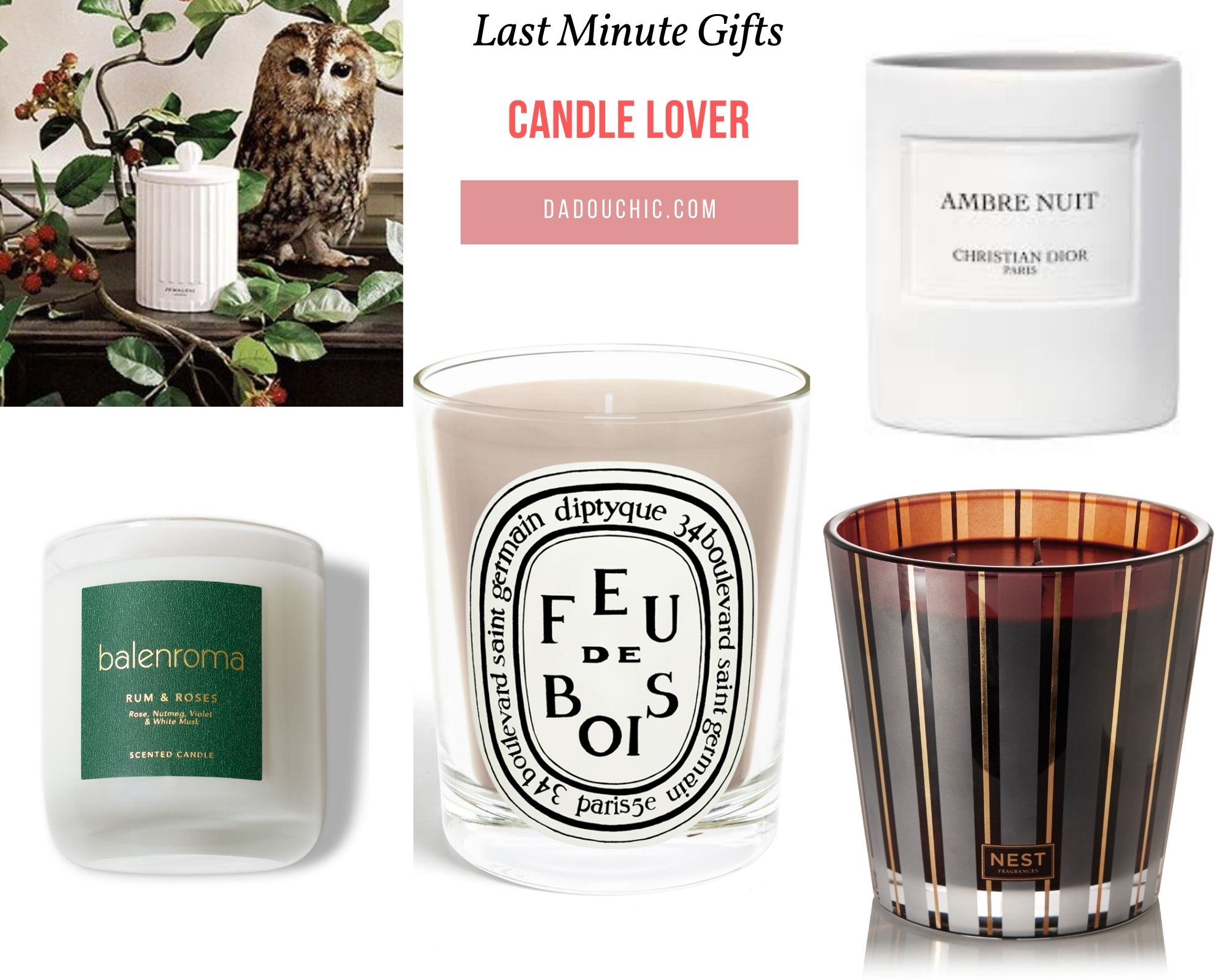 Gifts for the Candle Lover