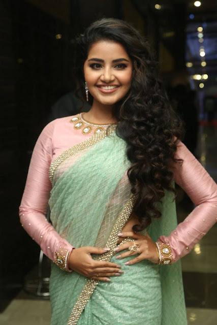 Anupama Parameswaran Stills At Vunnadi Okate Zindagi Movie Audio Launch