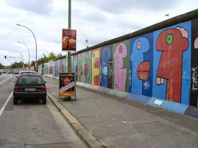 East Side Gallery en Berlin