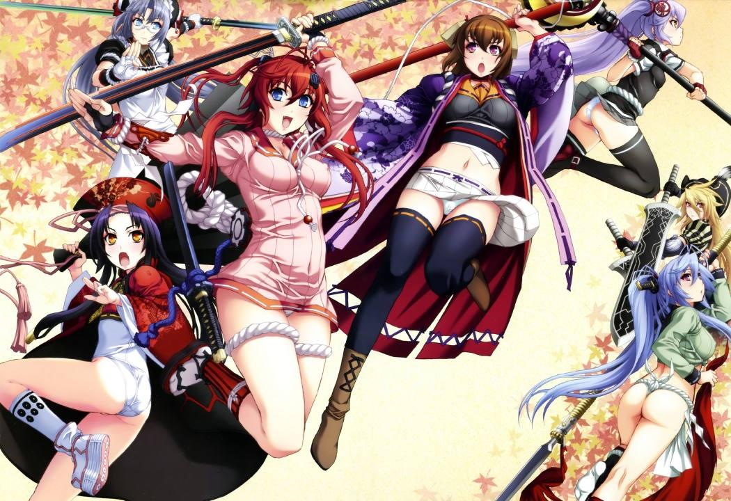 Hyakka Ryouran: Samurai Girls BD Subtitle Indonesia Batch
