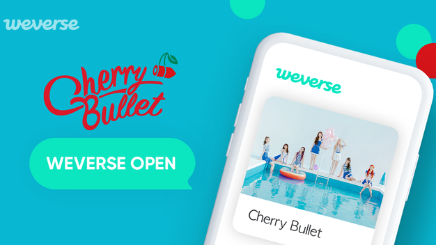 Cherry Bullet Also Joins The Weverse Platform