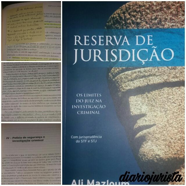 Reserva de jurisdição - os limites do juiz na investigação criminal