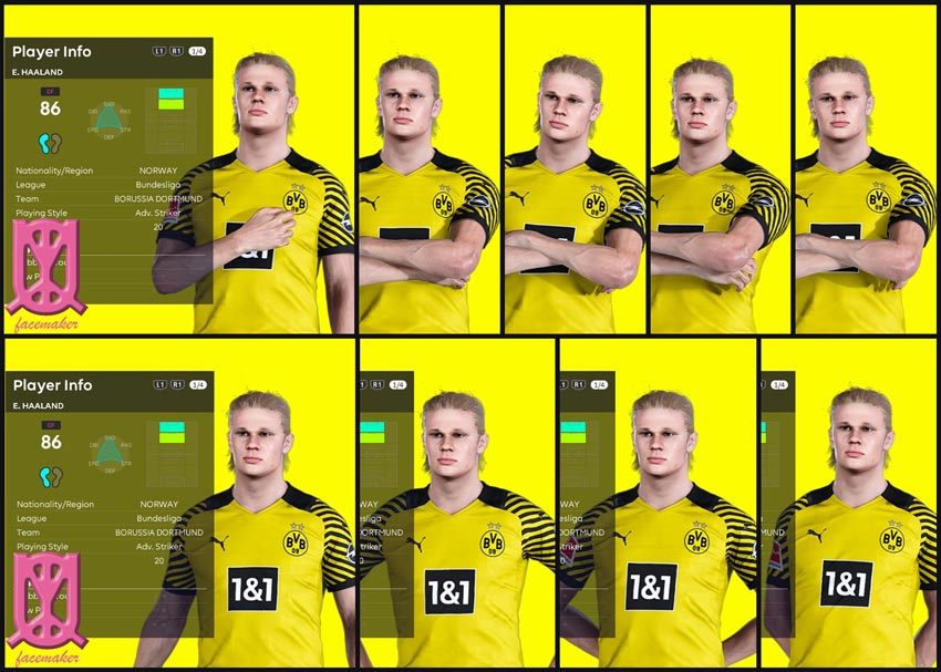Interface Pose Mod Animation For eFootball PES 2021