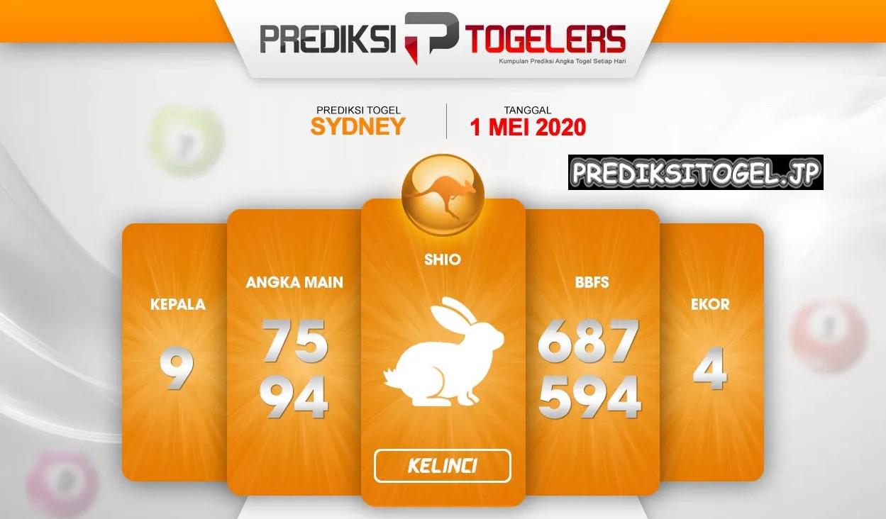 Prediksi Togel Sidney 01 Mei 2020 - Prediksi Togellers