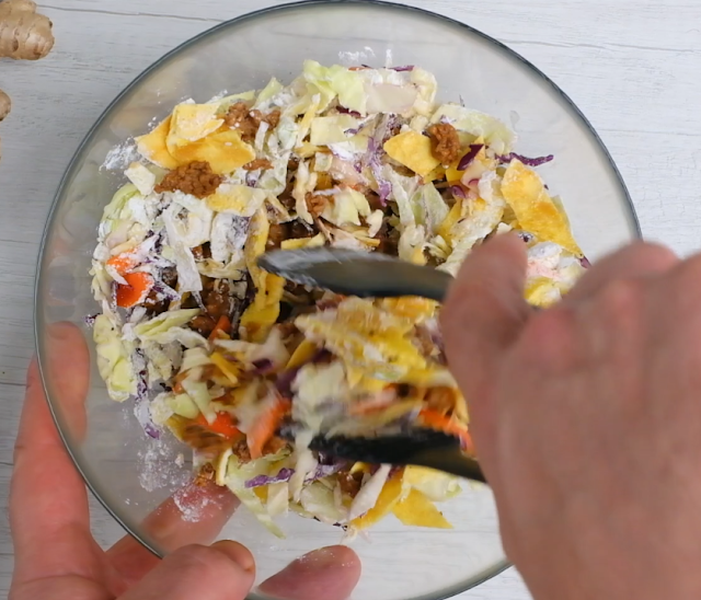 egg roll filling