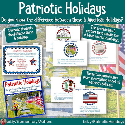 https://www.teacherspayteachers.com/Product/Patriotic-Holidays-A-Freebie-248327?utm_source=blog%20post%2048b&utm_campaign=Patriotic%20Holidays