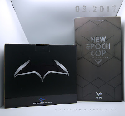 osw.zone February 2017 Haul: VTS New Epoch Cop (I am the law) & Batman Batarang 1: 1 Scale Prop Replica