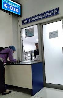 loket pengambilan paspor Semarang