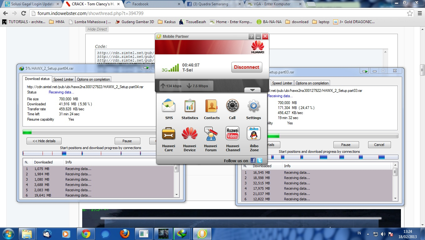 Mobile partner with ussd download
