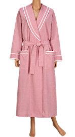 sleepwear family: Lanz Seersucker Robe - Women's Sleepwear