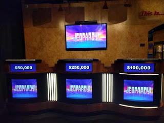 Jeopardy! Contestants Row