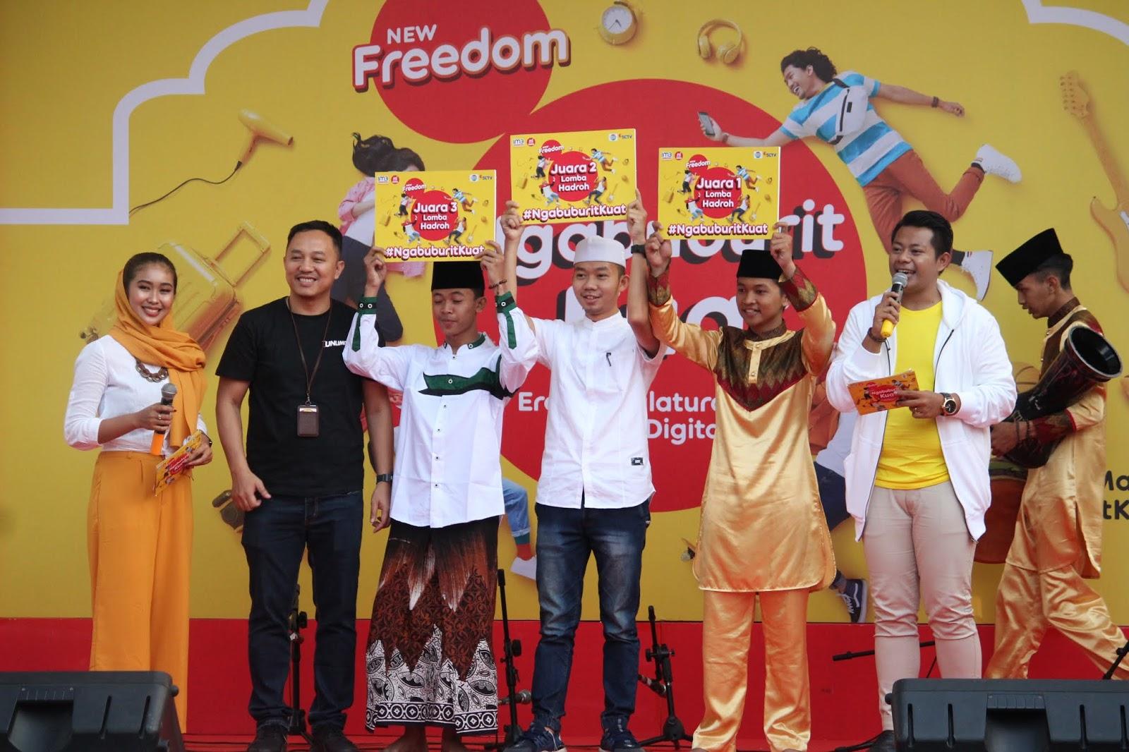 Juara lomba hadroh Ngabuburit Kuat IM3 Ooredo