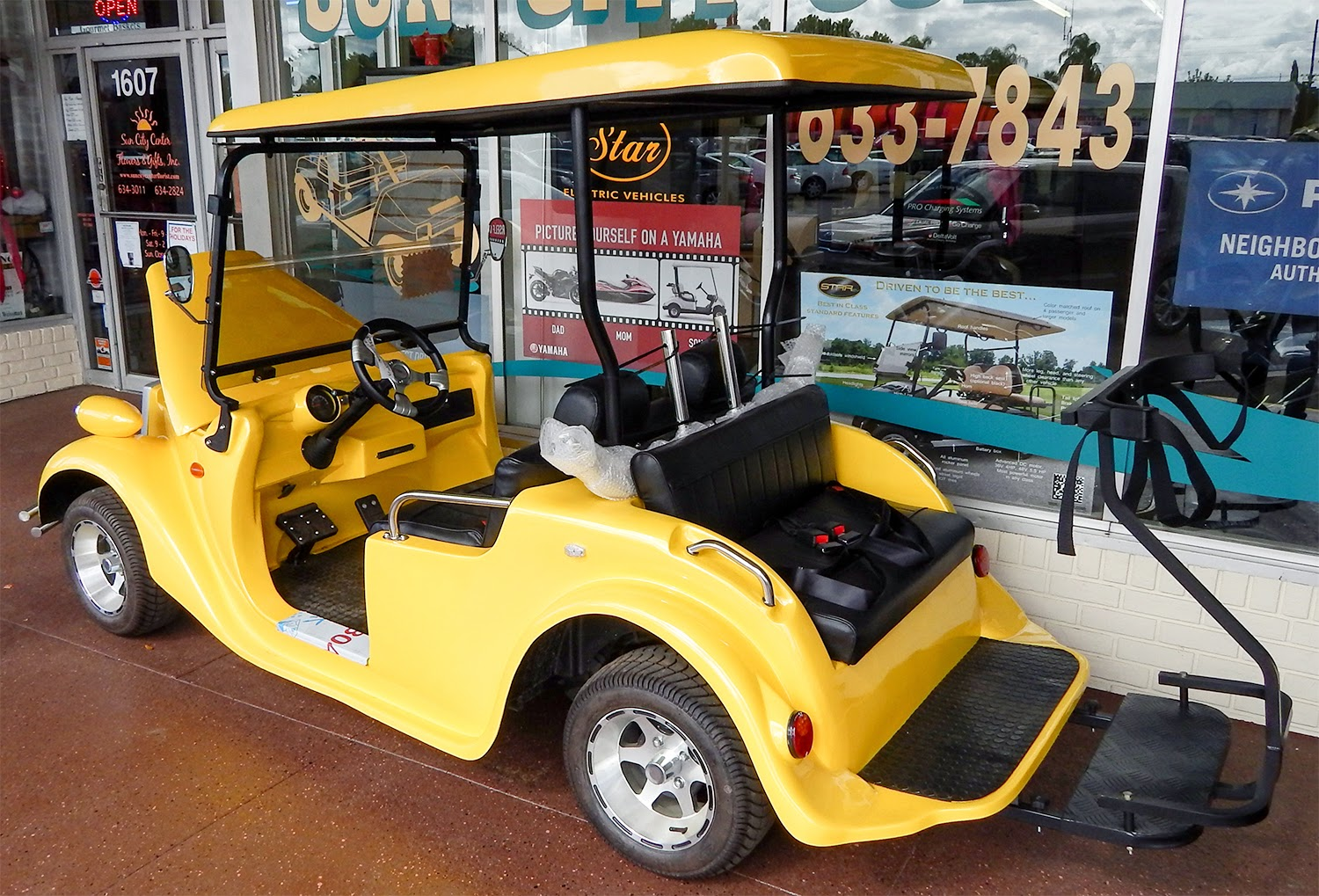 Starev Builds Roadster Golf Carts