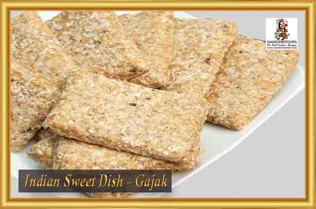 Indian Sweet Dishes - Gajak