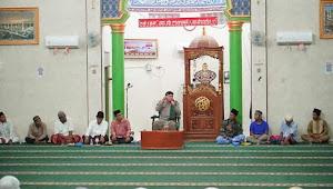 Wakil Wali Kota Waris Tholib Hadiri Peringatan Nuzulul Quran di Masjid Syuhada Pulau Simardan