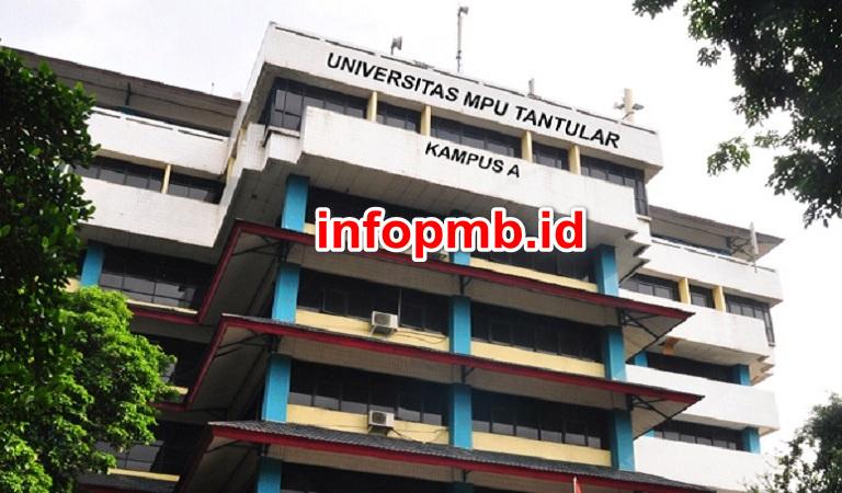 Jadwal Penerimaan Mahasiswa Baru Universitas Mpu Tantular