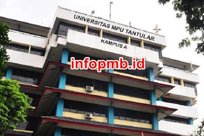 Informasi Pendaftaran Mahasiswa Baru MpuTantular 2021-2022