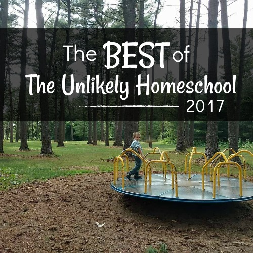 The BEST of homeschooling 2017- tons of tips and lots of encouragement