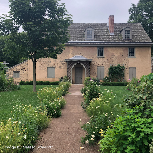 Bartram's charming colonial home was constructed in 1731 and does include later additions.