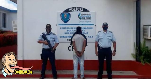 El Monstruo Chavista fue capturado por abusar de una niña de 6 años (Es el del medio)