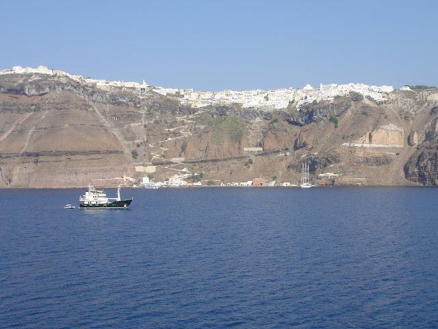 Santorini, Grécia.