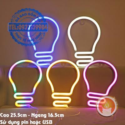 Đèn led neon bóng đèn