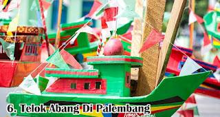 Telok Abang Di Palembang merupakan salah satu tradisi unik 17an di berbagai daerah Indonesia