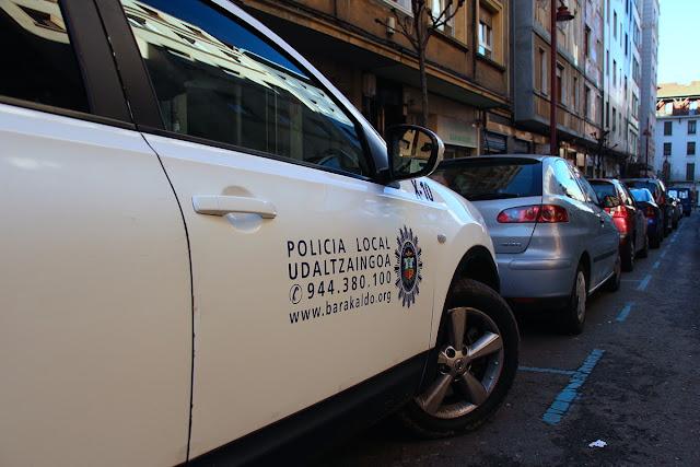 policía municipal de Barakaldo