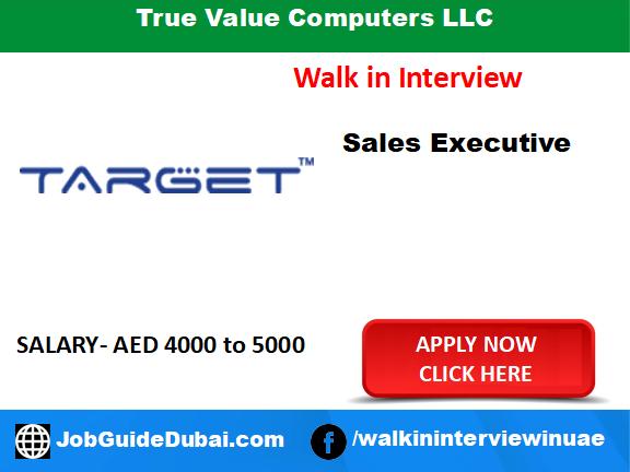 True Value Computers LLC career for sales executive job in Dubai