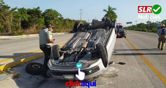 accidente-carretero-playa-del-carmen-tulum