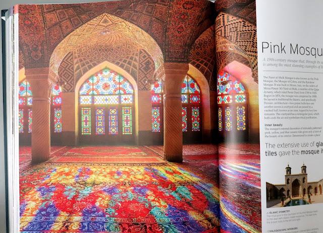 dk book manmade wonders pink masjid iran kaleidoscopic