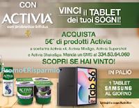"""""""Con Activia vinci il Tablet dei tuoi sogni"""" : un premio al giorno"""
