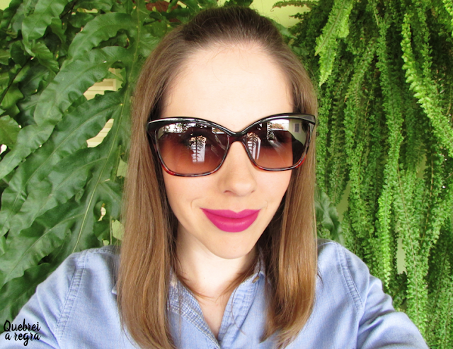 Meu óculos de sol da Detroit Eyewear
