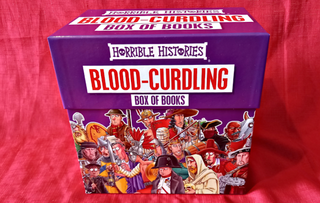 Horrible Histories Blood Curdling 20 Books Collection