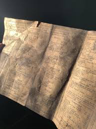 Menu from 1913 found in rafters of British cafe |interesting news|
