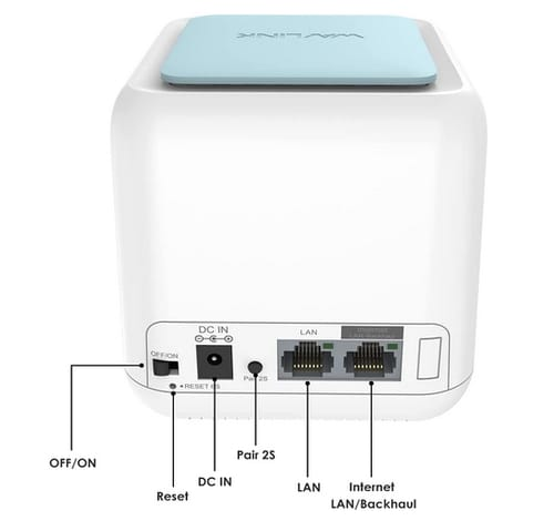 WAVLINK AC1200 Dual-Band Whole Home Mesh WiFi System