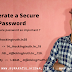 How to Generate a secure password through pentbox
