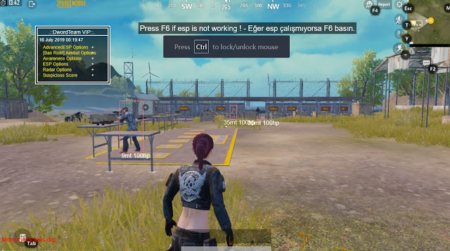 Updated PUBG Mobile ESP, Aimbot Hack 2019 Tencent Gaming Buddy