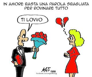 san valentino, neologismi, social, umorismo, vignetta