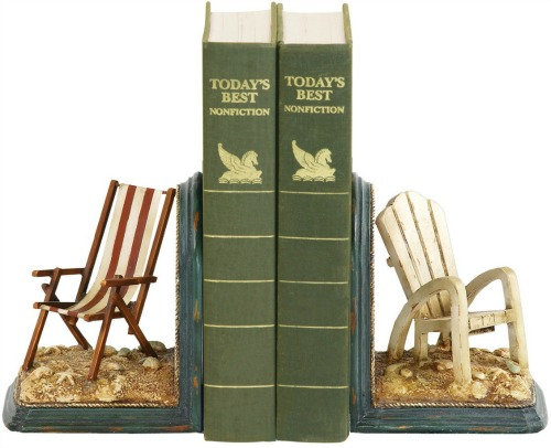 Beach Chair Bookends