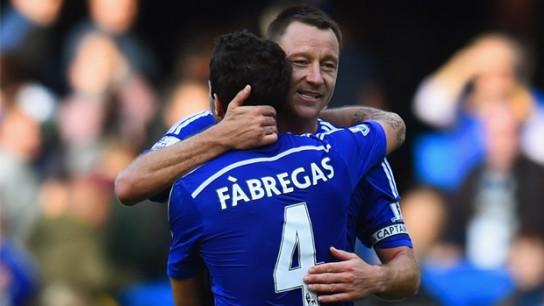Cesc Fabregas:Tidak mudah Berada Disatu klub seperti Terry