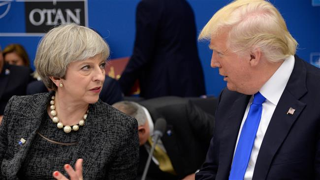 Shared intelligence must remain 'secure,' British Prime Minister Theresa May tells US President Donald Trump