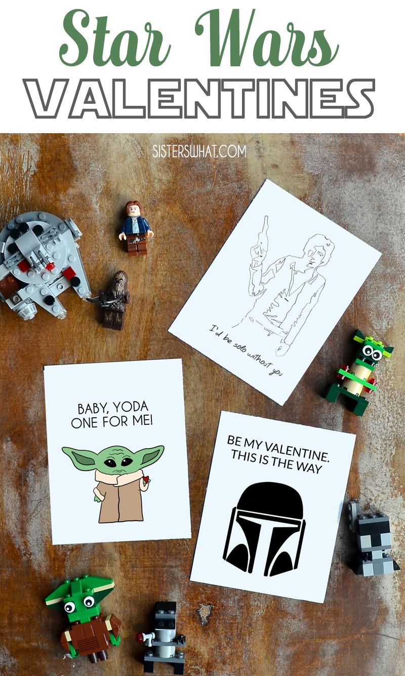 Free Star Wars Valentines Printable Baby Yoda