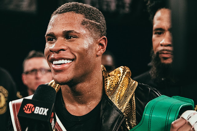 Devin Haney WBC lightweight champ