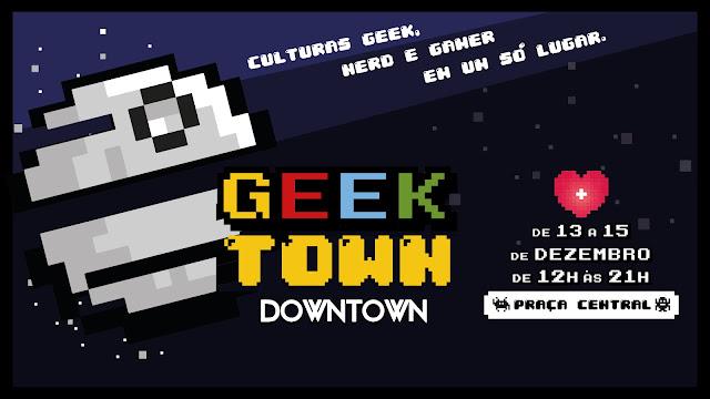 Shopping Downtown passa de fase e entra na segunda edição da Geektown