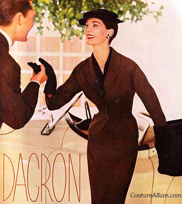 Couture Allure Vintage Fashion: August 2011 Dacron 1954