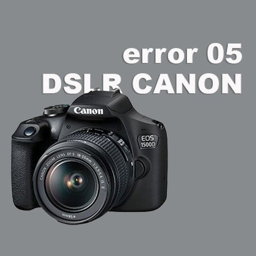 kamera error 05