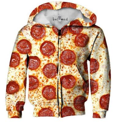 Pizza Kid's Hoodie