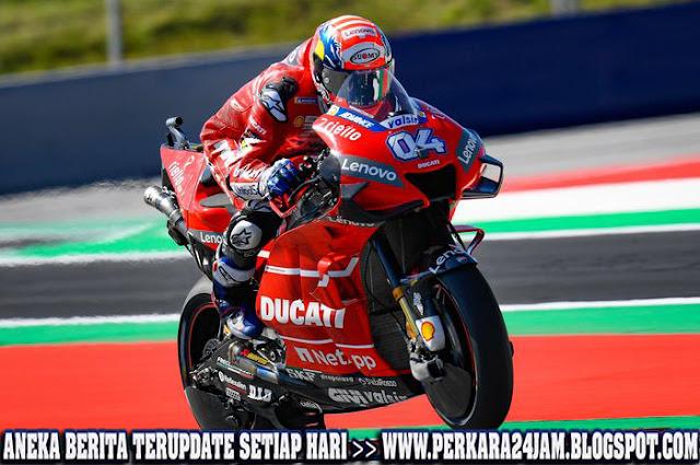 Andrea Dovizioso Buru Marc Marquez Di Puncak Klasemen MotoGP